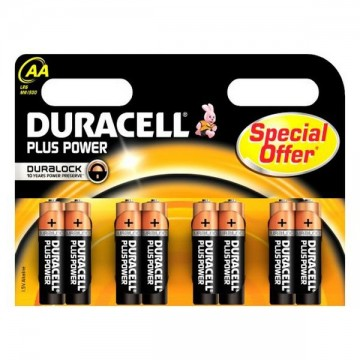 DURACELL Plus Power DURLR6P8B, LR6, 1.5V, 4x AA baterie alkaliczne